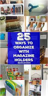 kitchen ideas magazine 25 brilliant home organization ideas with magazine racks and file