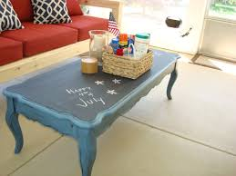 Painted Coffee Table Stolen Idea Chalkboard Top Coffee Table Kyle Not Really A Dude