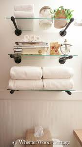 Floating Shelves For Bathroom by Best 25 Glass Shelves For Bathroom Ideas Only On Pinterest
