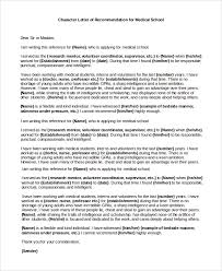 ideas collection character reference letter doctor about template