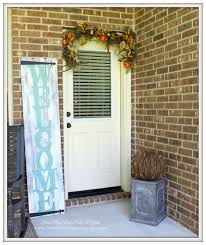 from my front porch to yours fall touches on the porch with