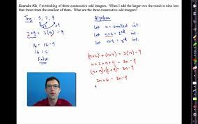 common core algebra i unit 2 lesson 6 more linear word problems
