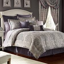 Blue King Size Comforter Sets Bedroom Gray And White Bedding Bed In A Bag Queen Queen Size