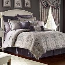 Grey Bedspread Bedroom Queen Size Bedding Sets Full Size Comforter Queen