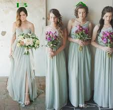 discount bridesmaid dresses country 2017 bridesmaid dresses the shoulder pleats