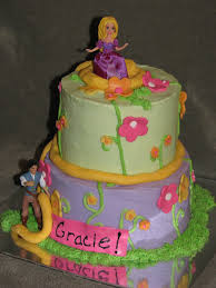 rapunzel birthday cake bake me a cake rapunzel cake and cupcakes