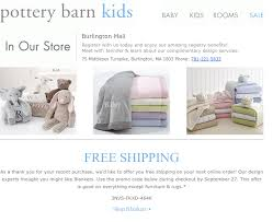 Pottery Barn Kid Promo Code What You Can Learn From Pottery Barn U0027s Email Marketing Klaviyo