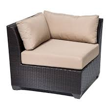 tk classics barbados 10 piece rattan sectional set with cushions