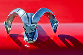 1952 dodge ram ornament photograph by reger