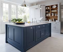 painting a kitchen island kitchen trend painted cabinets and brass hardware ms