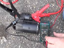 how to test your starter motor u0026 solenoid starter