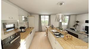 salon cuisine ouverte cuisine ouverte sur salon aménagement maison travaux