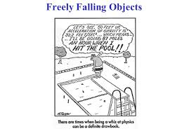 freely falling objects important common special of