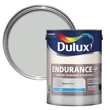 washable paint for walls dulux endurance goose down matt wall u0026 ceiling paint 5l