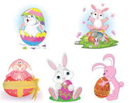 easter bunny vector vector graphics blog