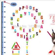 How To Decorate Nursery Classroom Alphabet Stickers Children S Room Bedroom Wall