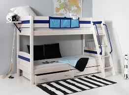White Wooden Bunk Bed White Wooden Bunk Bed With Drawers The Bed Combined