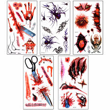 halloween makeup stickers compare prices on halloween cuts makeup online shopping buy low