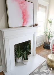 fireplace u0026 accessories painting tile around fireplace granite