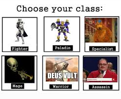 October Memes - meme of the month october 2016 choose your class know your meme