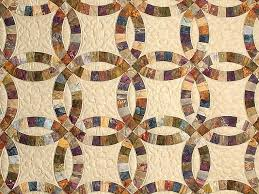double wedding ring quilt gorgeous adeptly made amish quilts