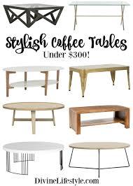 stylish coffee tables under 300 home decor design