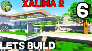 minecraft lets build xalima 2 06 modern concept house youtube minecraft lets build xalima 2 06 modern concept house