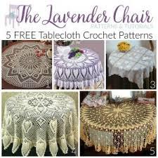 Crochet Table Runner Pattern 5 Crochet Kitchen Items The Lavender Chair