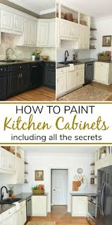 painting kitchen cabinets tutorial painted kitchen cabinets tutorial at home with the barkers