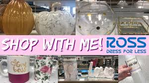 shop with me at ross fall 2017 home decor u0026 more youtube