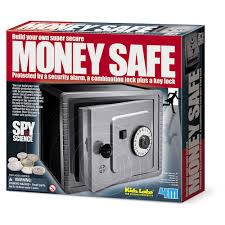 4m spy science build your own money safe kit walmart com