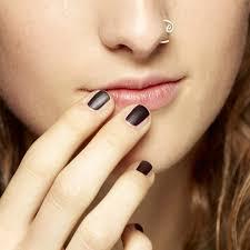 hypnotizing photograph black mood changing nail polish beguiling