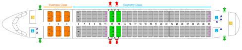 A340 Seat Map Flight Facilities Flight Information Srilankan Airlines