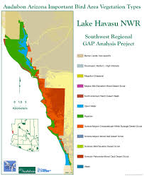 Mesa College Map Havasu National Wildlife Refuge Iba Arizona Important Bird
