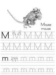 alphabet abc letter mouse coloring