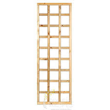framed straight garden trellis panels breathe azores