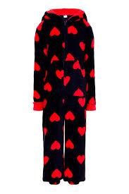 luxury novelty hooded all in one fleece pyjamas onezee