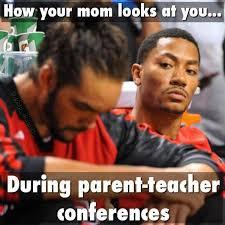Parent Meme - teacher meme mothers at parent teacher conferences faculty loungers