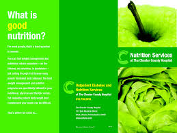 nutrition brochure template nutrition brochure template best and professional templates