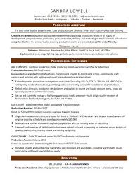 resume format administrative officers exams 4 driving lights production assistant resume sle monster com