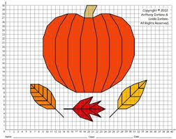 pumpkin w leaves mystery picture by anthony and iorlano tpt