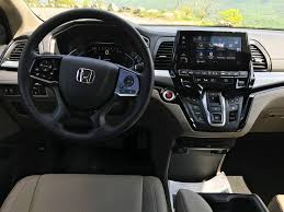 Interior Of Honda Odyssey 2018 Honda Odyssey Test Drive Review Autonation Drive Automotive