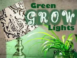 when to use green grow lights 1000bulbs