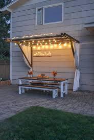 Diy Backyard Canopy 42 Summery Diy Backyard Projects For Functional Outdoor Beauty