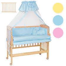 Bed Crib Attachment by Wooden Bedside Cot Variable Height Nursery Furniture Baby Crib