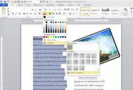 How Do I Find Resume Templates On Microsoft Word 2007 Highlight Text With The Gradient Fill Effect In Word Techrepublic