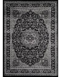 Area Rug Black On Sale Now 15 Rugs Traditional Black Grey