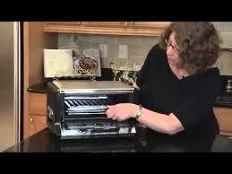 Cuisinart Tob 195 Exact Heat Toaster Oven Broiler Cuisinart Tob 50 Classic Toaster Oven Broiler Youtube