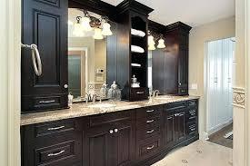 Wood Framed Bathroom Vanity Mirrors Bath Vanity Mirror With Lights Bathroom Built In Cabinet Home