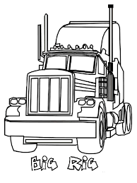 jet truck coloring page semi truck coloring pages free printable semi truck coloring pages